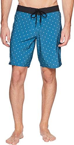 RVCA Men's VA Trunk, Teal, 32