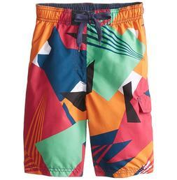 Men's Kanu Vertigo Surf Swim Board Shorts Color Multi Size 3