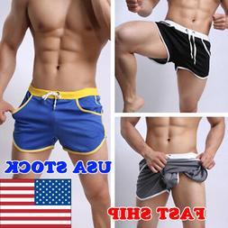 men summer swim shorts swimwear swimming trunks
