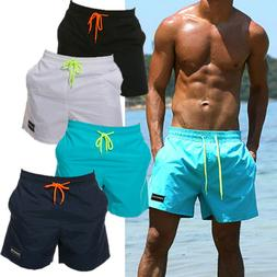 Men Swim Shorts Sport Trunks Running swimsuit Surt Board pan
