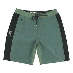 """Rip Curl Mens 19"""" Mirage 3/2/One Ultimate Boardshorts Olive"""