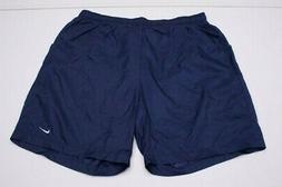 Nike Mens 2XL Blue Polyester Mesh Lined Swim Trunks Board Sh