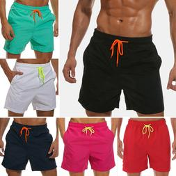 Mens Beach Quick Dry Boardshorts Swim Trunks Surfing Shorts