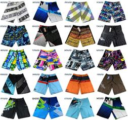 Mens Beach Shorts Boardshorts Quick Dry Swimming Pants Surfi