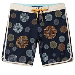 MaaMgic Mens Beach Wear 4 Way Stretch Swim Trunks with Mesh