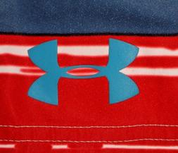 Mens BNWOT Red/White/Blue UNDER ARMOUR Heat Gear Technical B