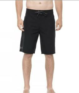 Mens Under Armour Board Shorts  New Size 34 Black New