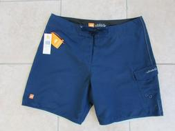 Quiksilver Mens Board Shorts Swim Trunks Size 36 Blue NWT