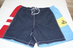 Mens NAUTICA Board Shorts XXL Drawstring Swim Trunks NWOT -C
