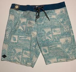 RIP CURL MENS BOARDSHORTS LA HAINA BOARDWALK MID LEG Size 34