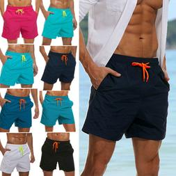Mens Boys Swimming Board Shorts Swim Shorts Trunks Swimwear
