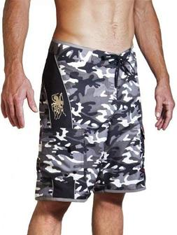 Maui Rippers Men's Camo Board Shorts - The Octopus | Quick
