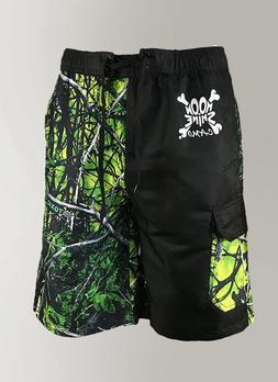 mens camo swim trunks board shorts in