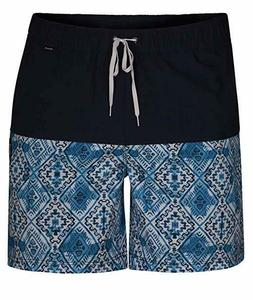 "Hurley Mens Groovy Volley 17"" Boardshorts Blue Men's Sz XL"