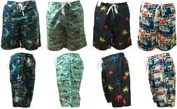 Mens Hawaiian Swimming Shorts Board Surf Shorts Sports Swim