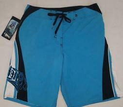 Mens new O'neill Grinder boardshorts size 30x22 turquoise nw