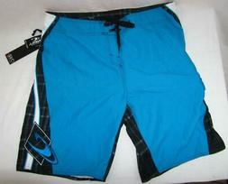 Mens new O'neill Grinder UE boardshorts size 38 Blue nwt