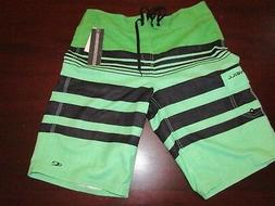 mens O'Neill  board shorts 30 nwt $44.50 calypso green black