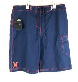 Hurley, Men's One And Only 22 Inch Blue Boardshorts, Size