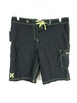 Hurley, Men's One And Only 22 Inch Boardshorts, Size Black