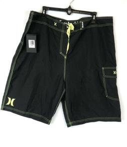 Hurley, Men's One And Only 22 Inch Boardshorts, Black/Gree