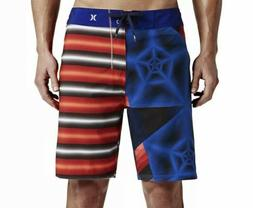 "Hurley Mens Phantom Dalek 19"" Boardshorts Swinwear Trunks US"