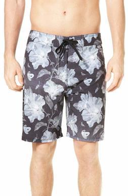 "Hurley Mens Phantom Flora 19"" Boardshorts, size 34, New w/o"