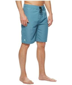 "Hurley Mens Phantom One & Only 21"" Boardshorts - Noise Aqua/"