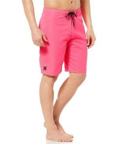 "Hurley Mens Phantom One & Only 21"" Boardshorts - Hyper Pink/"