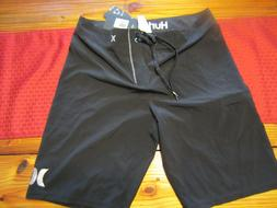 "Hurley Mens Phantom ""ONE & ONLY"" Board shorts BLACK Size 31"