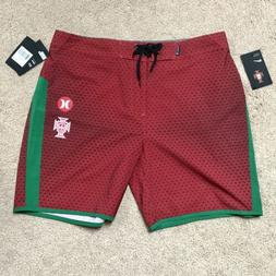 "Hurley Mens Phantom Portugal National Team 18"" Boardshorts -"