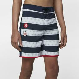 "Hurley Mens Phantom USA National Team 18"" Boardshorts"
