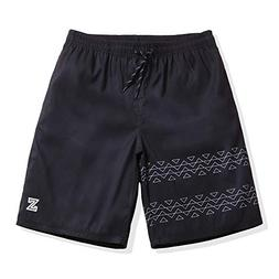 Mens Quick Dry Board Shorts Swim Trunks MX Black Medium 33-3
