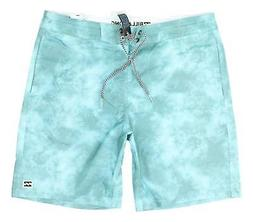 Billabong Mens Riot Lo Tides Boardshorts Mint Size 32 New