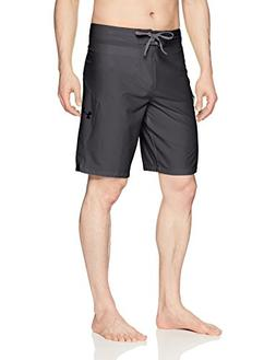 Under Armour Mens Stretch Boardshorts, Anthracite /Black, 38