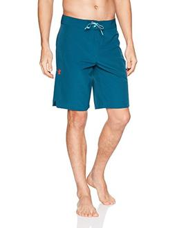 Under Armour Mens Stretch Boardshorts, Tourmaline Teal /Rock