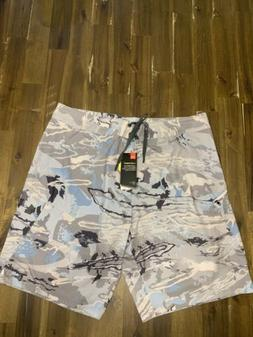 Under Armour Mens Stretch Camo Printed Board Shorts Performa