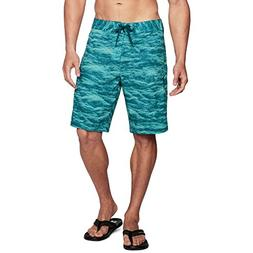 Under Armour Mens Stretch Printed Boardshorts, Tropical Tide