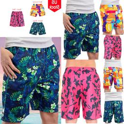 Mens Surfing Running Quick Dry Shorts Boardshorts Swim Water