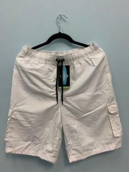 Tesla Mens Surfista WHITE Swimming Board Shorts Mens L PERFO