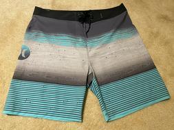 Hurley Mens Swim - Phantom Overspray Boardshort - 30 Waist P