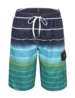 "Hopgo Mens Swim Trunks 22"" Quick Dry Beach Shorts Boardshort"
