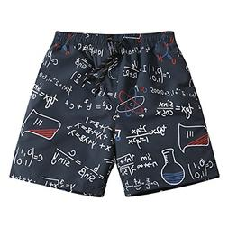 Mens Ultra Quick Dry Geek Formula Fashion Board Shorts Mediu