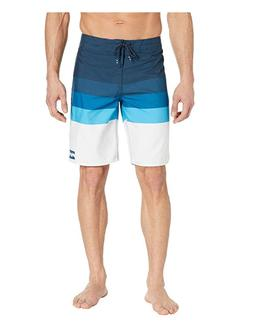 Billabong Midway Stripe Board Shorts Quick-Dry Blue Size 29
