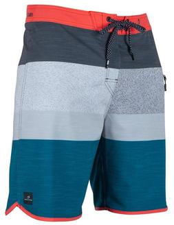 Rip Curl Mirage Locals Hour Boardshorts CHA Size 34 Stretch