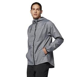 Hurley MJK0002160 Men's Protect Solid Jacket In, Cool Grey -