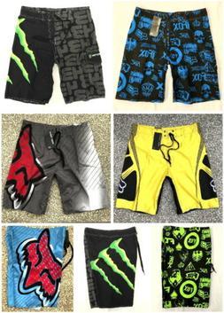 Fox Monster Mens Surf Beach Swim Summer Board Shorts Boardsh
