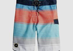 NEW $99 Rip Curl Men's Size 33 Blue Red Trunks Drawstring Sw