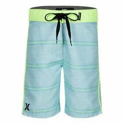 New Boys Hurley Shoreline Board shorts Swim Trunks Blue & Ne