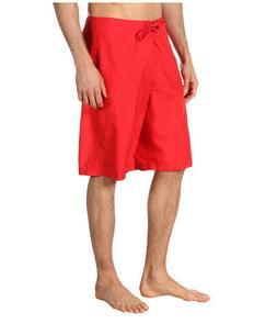 """New Oakley Classic Boardshorts 22 Men's 34"""" Red Board Shorts"""